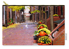 Carry-all Pouch featuring the photograph Autumn In The North End by Bruce Carpenter