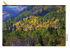 Carry-all Pouch featuring the photograph Autumn In Utah by Bryan Carter