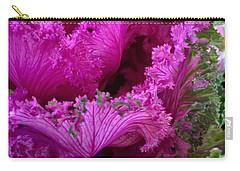 Autumn Kale Carry-all Pouch by Patricia E Sundik