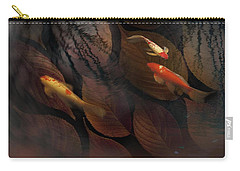 Autumn Koi Carry-all Pouch