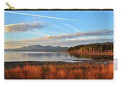 Autumn Lake Tahoe Carry-all Pouch