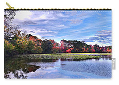 Autumn Landscape 3 Carry-all Pouch by Mikki Cucuzzo