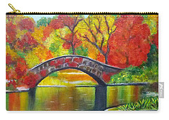 Autumn Landscape -colors Of Fall Carry-all Pouch
