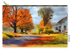 Autumn Landscape Carry-all Pouch by Sergey Lukashin