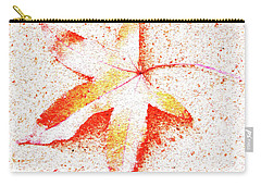 Autumn Leaf Art Carry-all Pouch