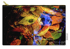 Carry-all Pouch featuring the photograph Autumn Leaf by Tatsuya Atarashi