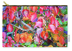 Autumn Leaves And Buds Carry-all Pouch