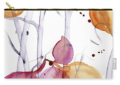 Carry-all Pouch featuring the painting Autumn Leaves by Dawn Derman