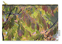Carry-all Pouch featuring the photograph Autumn Leaves by Doris Potter