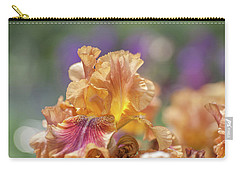 Autumn Leaves Iris Flower. The Beauty Of Irises  Carry-all Pouch