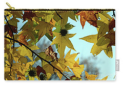 Carry-all Pouch featuring the photograph Autumn Leaves by Joanne Coyle