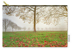 Carry-all Pouch featuring the photograph Autumn Leaves Near To Far Super High Resolution by William Lee