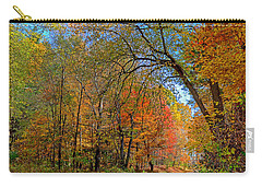 Carry-all Pouch featuring the photograph Autumn Light by Rodney Campbell