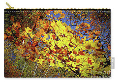 Carry-all Pouch featuring the photograph Autumn Light by Tatsuya Atarashi
