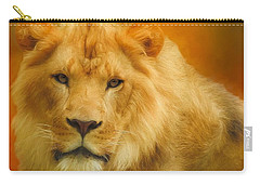 Autumn Lion Carry-all Pouch by Suzanne Handel