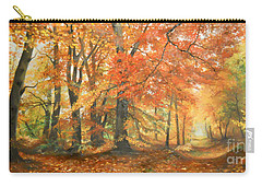 Autumn Mirage Carry-all Pouch by Sorin Apostolescu