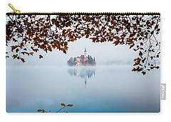 Autumn Mist Over Lake Bled Carry-all Pouch