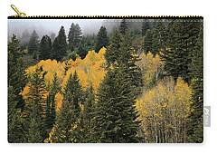 Autumn Mist, Owyhee Mountains Carry-all Pouch