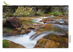 Carry-all Pouch featuring the photograph Autumn Moment by Mike Dawson