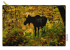 Autumn Moose Carry-all Pouch by Brent L Ander