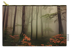 Autumn Mornin In Forgotten Forest Carry-all Pouch