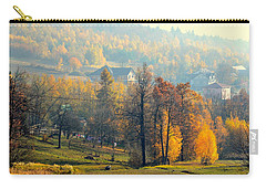 Autumn Morning Carry-all Pouch by Henryk Gorecki