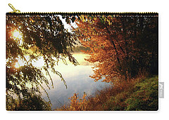 Autumn Morning  Carry-all Pouch by Kathy Bassett