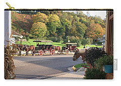 Autumn Morning On Mackinac Island Carry-all Pouch