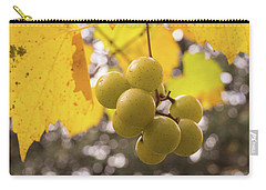 Autumn Muscadine Grapes On The Vine Carry-all Pouch