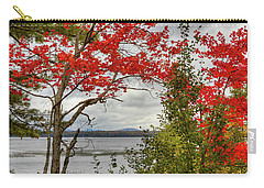 Carry-all Pouch featuring the photograph Autumn On Raquette Lake by David Patterson