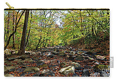 Autumn On The Clifty Creek Carry-all Pouch by Paul Mashburn