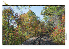 Autumn On The Hiawassee Rails Carry-all Pouch