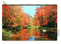 Autumn On The Mersey River, Kejimkujik National Park, Nova Scotia, Canada Carry-all Pouch