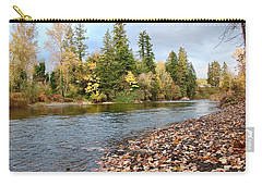 Autumn On The Molalla Carry-all Pouch