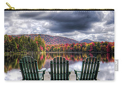 Carry-all Pouch featuring the photograph Autumn On West Lake by David Patterson