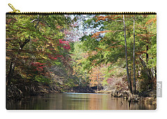 Autumn Over Golden Waters Carry-all Pouch