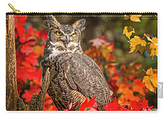 Autumn Owl Carry-all Pouch