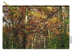 Autumn Path At St Croix Bluffs Carry-all Pouch