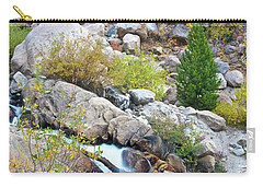 Carry-all Pouch featuring the photograph Autumn Peace by Gary Lengyel