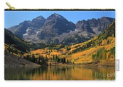 Autumn Peaks Carry-all Pouch by Paula Guttilla