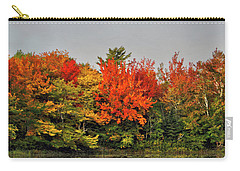 Autumn Portrait Carry-all Pouch by Kathleen Sartoris
