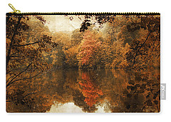 Autumn Reflected Carry-all Pouch by Jessica Jenney
