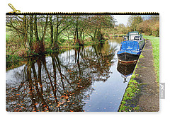 Autumn Reflections On  The Leeds Liverpool Canal Carry-all Pouch