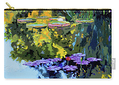 Autumn Reflections On The Pond Carry-all Pouch