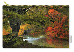 Carry-all Pouch featuring the photograph Autumn Reverie by Jessica Jenney