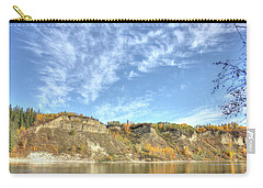 Autumn Sky On The River Carry-all Pouch