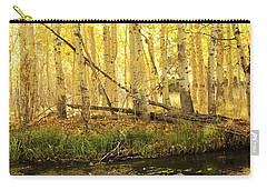 Autumn Soft Light In Stream Carry-all Pouch