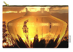 Carry-all Pouch featuring the photograph Autumn Spirits by Joyce Dickens