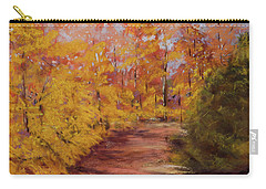 Autumn Splendor - Fall Landscape Carry-all Pouch by Barry Jones