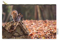Autumn Squirrel 3 Carry-all Pouch